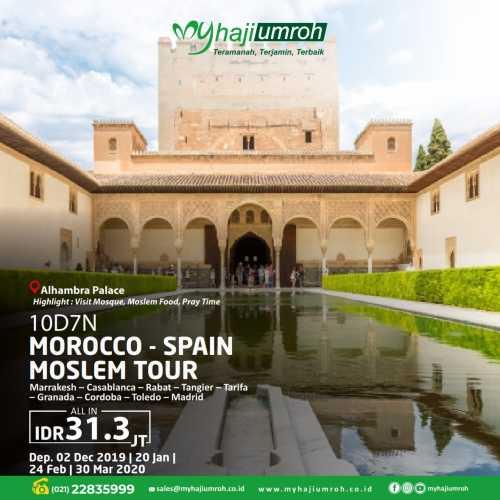 MOROCCO & SPAIN MOSLEM TOUR